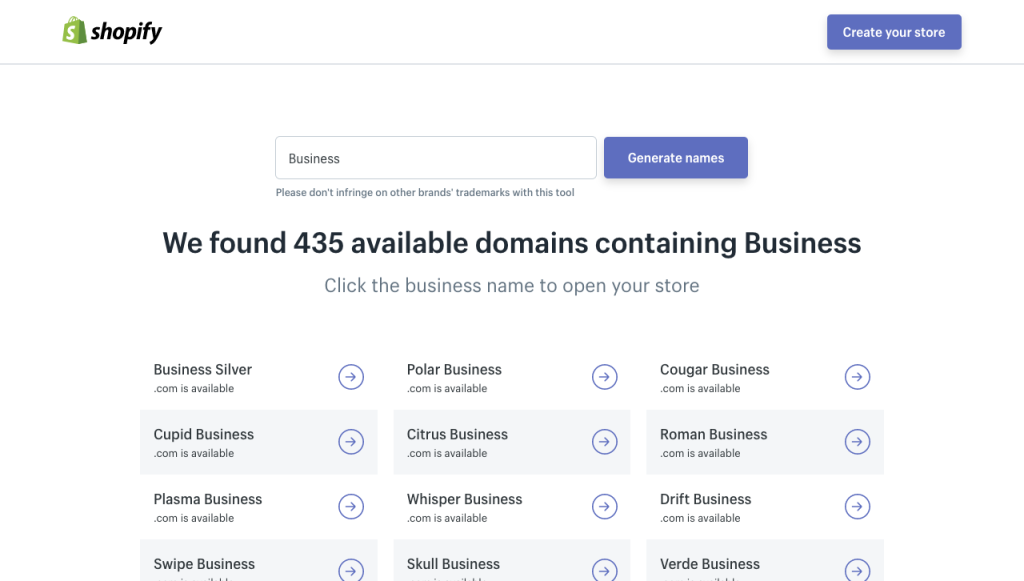 12 Business and Domain Name Websites