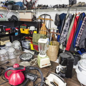 Used stuff in Garage