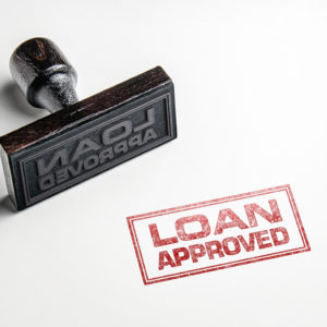 Loan Approved Rubber Stamp