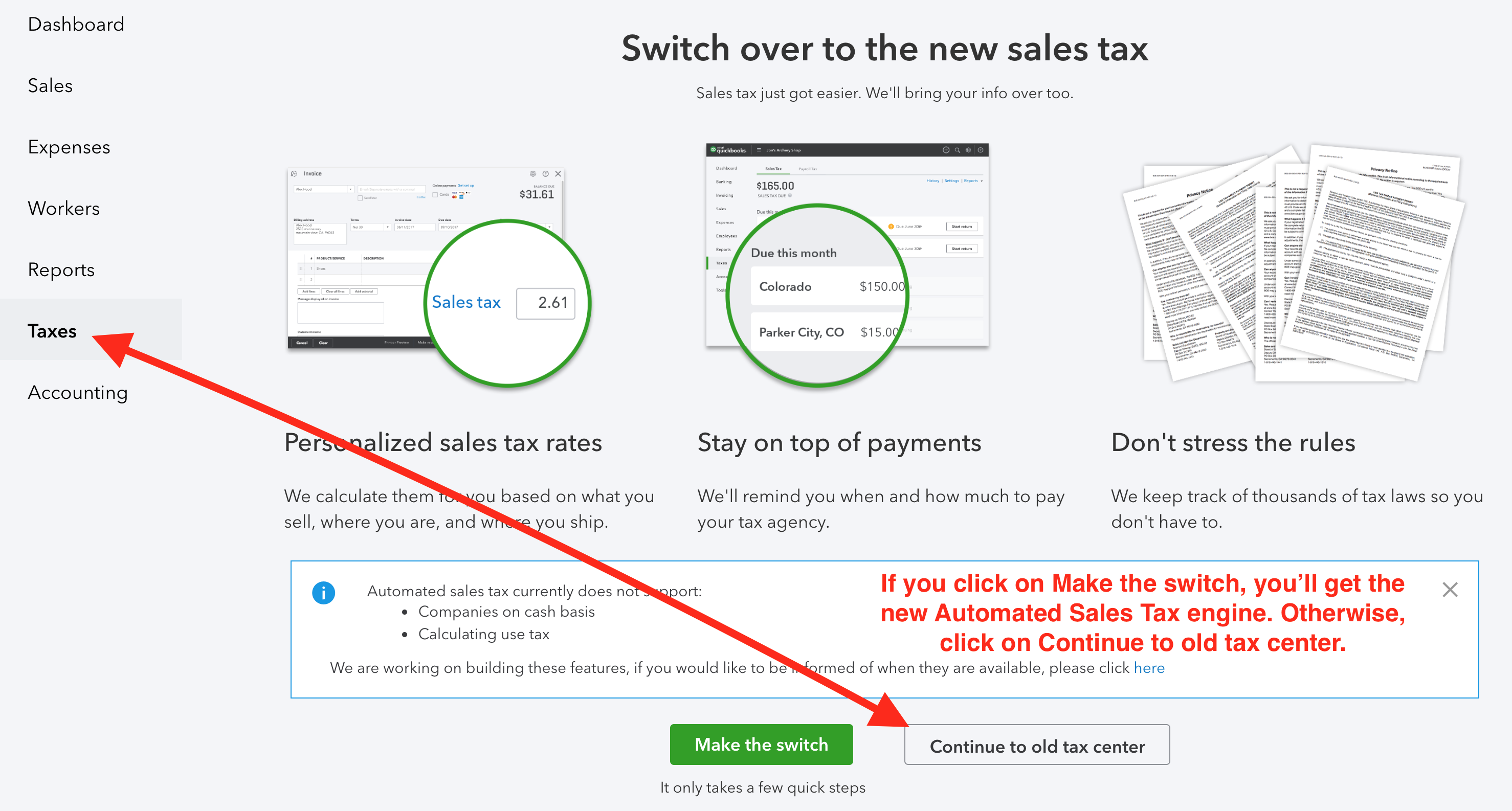 Amazon to QuickBooks Online Accounting: Configuring Sales Tax and