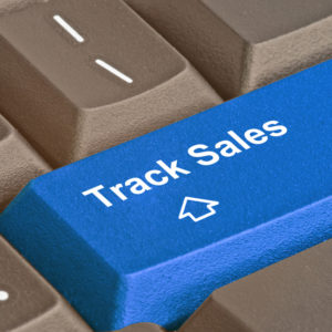 Track Sales button on keyboard