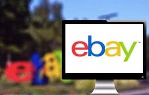 ebay on screen